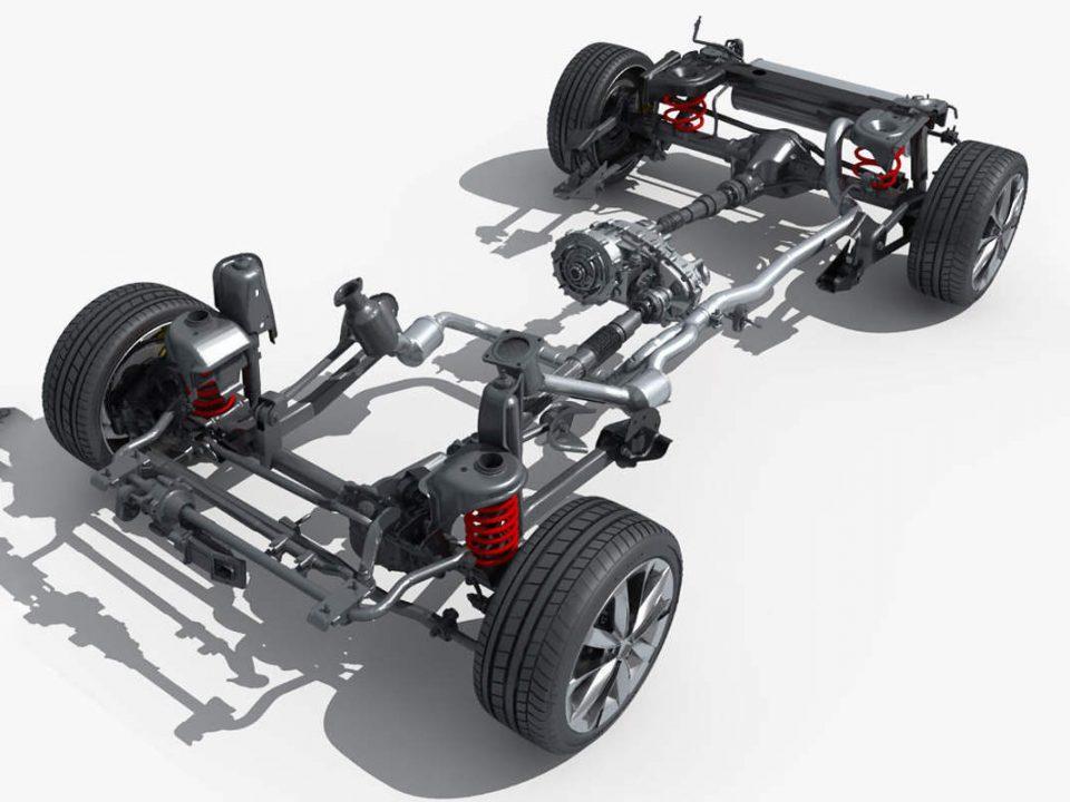 اجزاء اصلی سیستم تعلیق خودرو