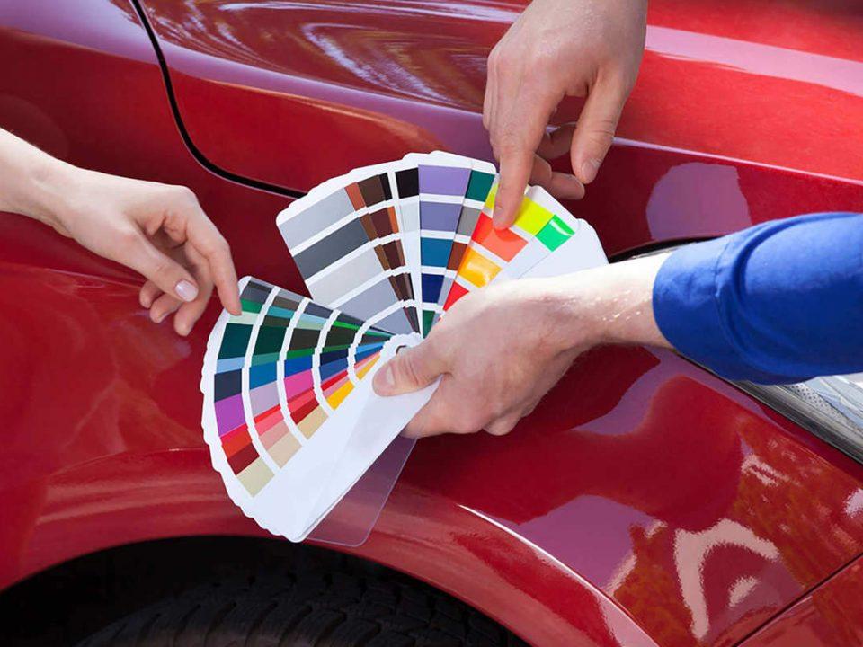 انتخاب و شناخت انواع رنگ اتومبیل – اتوکلینیک رضایی