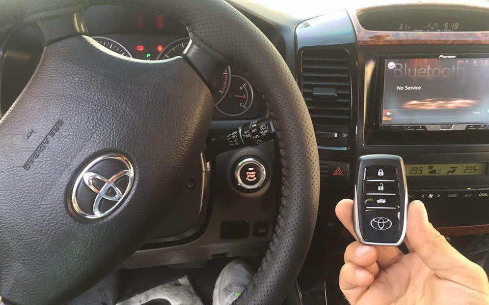 کیلس استارتر خودرو Keyless Starter یا کلید هوشمند خودرو چیست؟ - اتوکلینیک رضایی